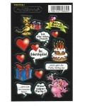 Stickers Geburtstag I - Motive 02- birthday