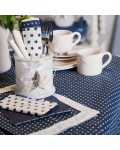 Tablecloth Twinkle Little Star 4 sizes beige and blue