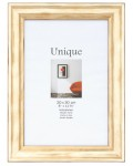 Picture frame UNIQUE III - 21x30 (A4) - gold, wood