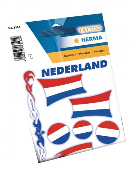 Tattoos netherlands flaggs