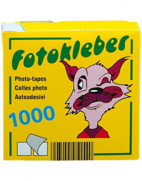 1000 pieces Photo Stickers Fuchs
