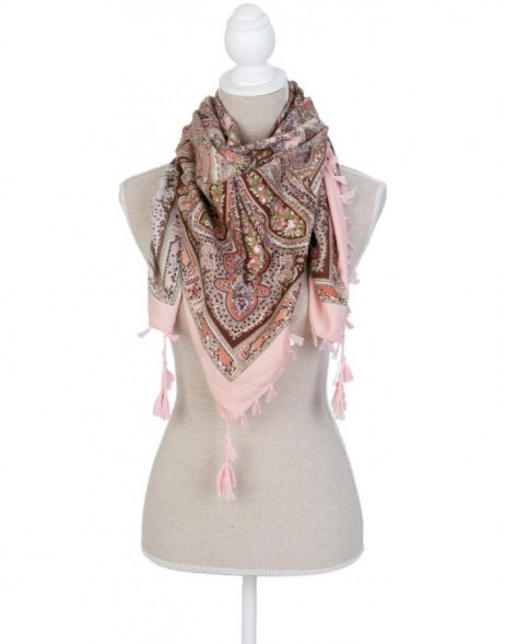 100x100 cm synthetic scarf SJ0555 Clayre Eef