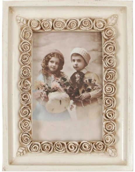 Clayre & Eef photo frame with rosary