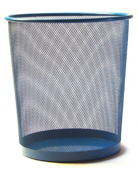 paper bin by officiona hot blue