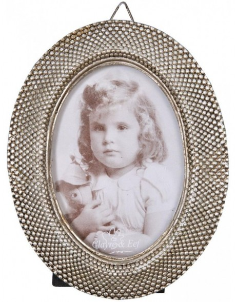 2939 antique frame 6.5x9 cm silver