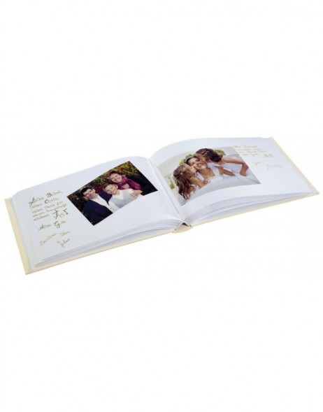 Anzio Photo and Guest Album, 30x20 cm, 60 white pages