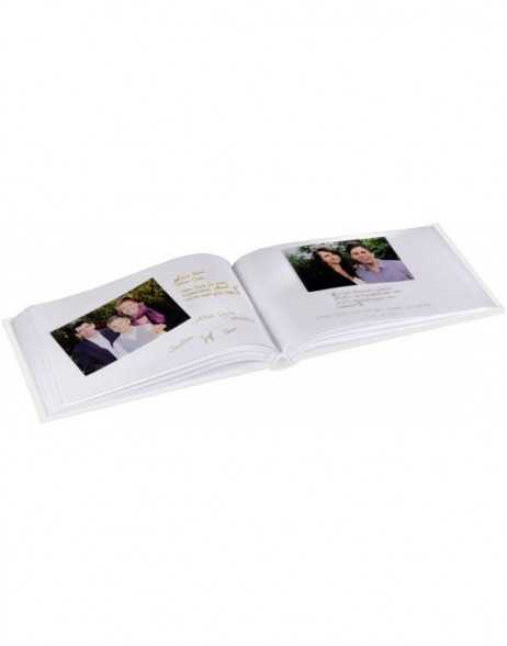 Messina Photo and Guest Album, 30x20 cm, 60 white pages