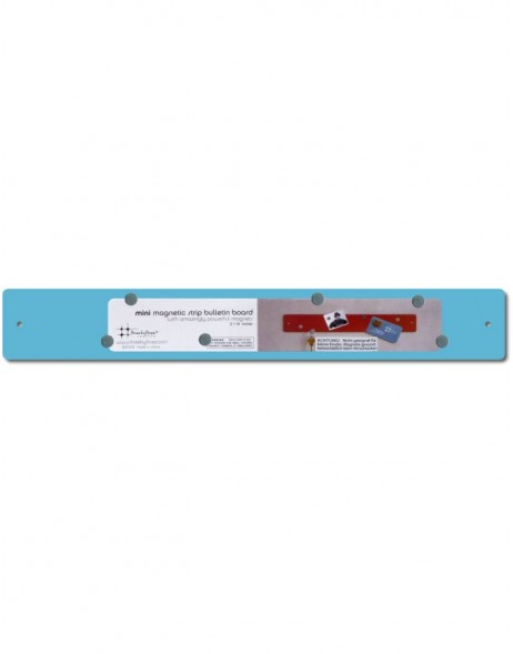 14x2 Mini Magnetic Strip in blue