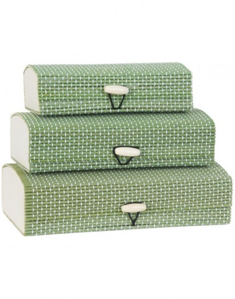 storage box, 3 pieces made of jute - 63170 Clayre Eef