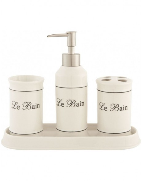 4 piece bathroom set  LE BAIN II