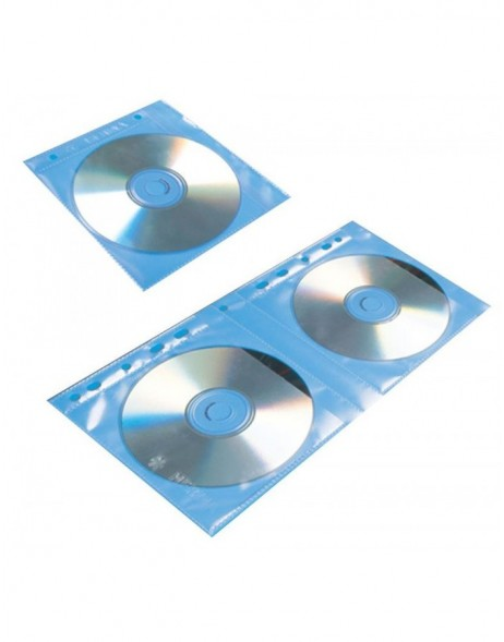 CD/DVD-pockets, 145x135 mm 5 pockets