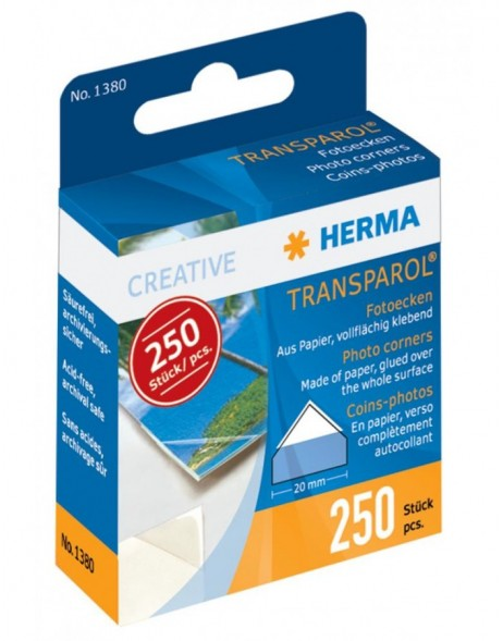 Transparol Photo Corners HERMA 250 pcs.