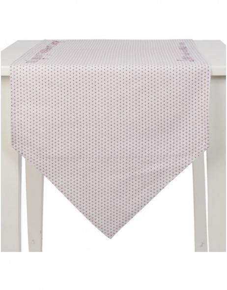 50x160 cm table runner red - My Lovely Home