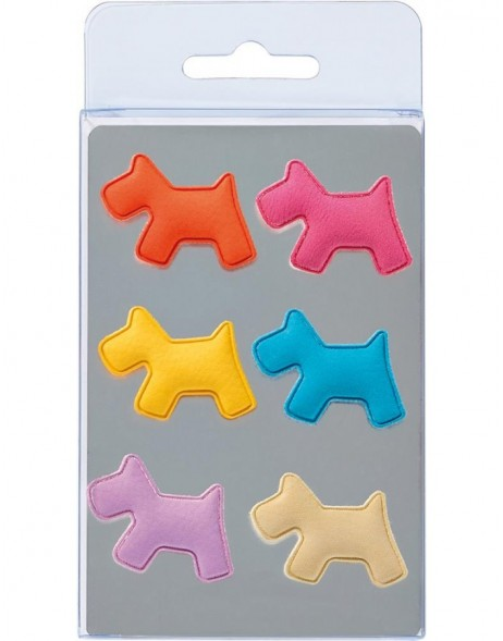 magnets dog 6 pieces