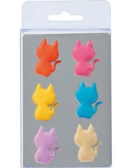 magnets CATS 6 pieces