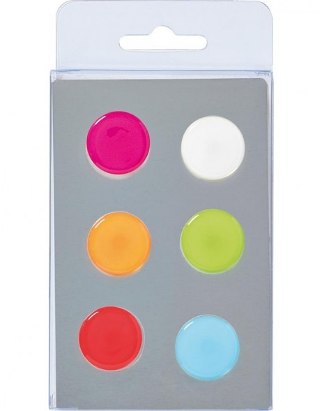 magnets 6 DOTS 2 colours