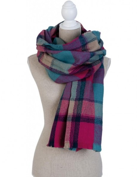 60x190 cm synthetic scarf SJ0634F Clayre Eef