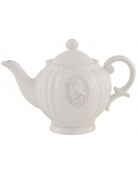 6CE0274teapot natural by Clayre Eef