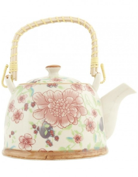6CETE0028teapot coloured by Clayre Eef