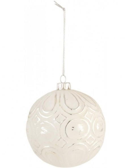 6GL1391 Clayre Eef Christmas ball 10 cm