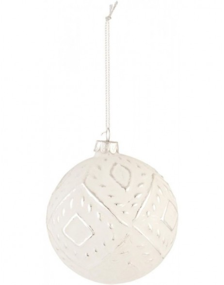 6GL1392 Clayre Eef Christmas ball 10 cm