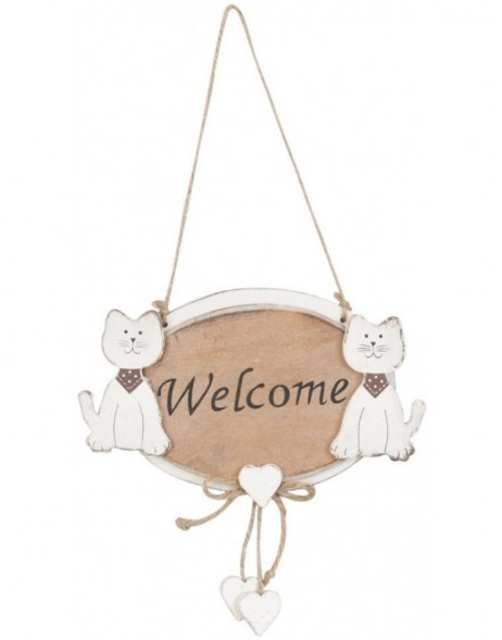 6H0737CH Clayre Eef - doorplate CATS natural