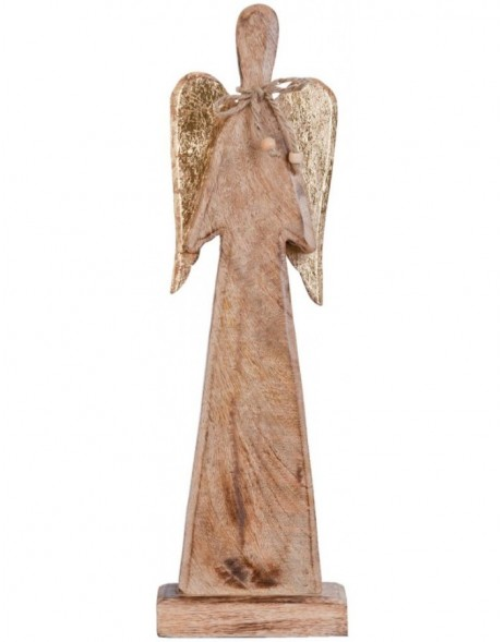 6H0933 Clayre Eef - decoration ANGEL brown