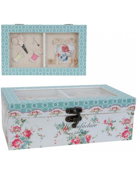 6H1013 Clayre Eef - sewing box colouful