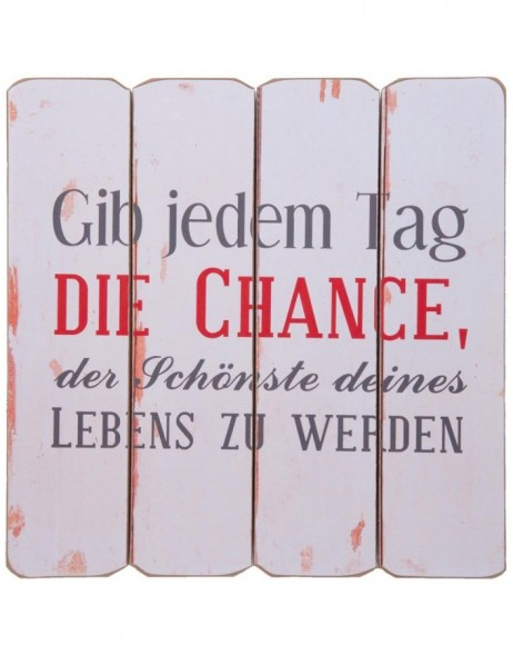 6H1029 Clayre Eef - wall decoration CHANCE colourful