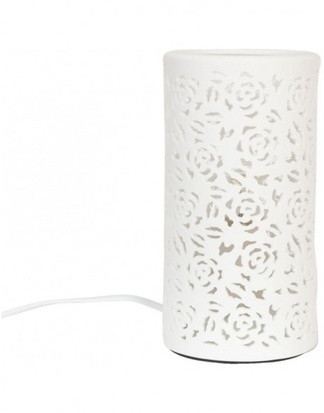 6LMP092 Clayre Eef - table lamp 10x20 cm