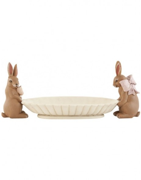 6PR0460 Clayre Eef - easter decoration bowl
