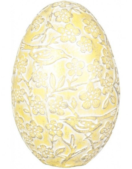 6PR0534 Clayre Eef - Easter egg yellow