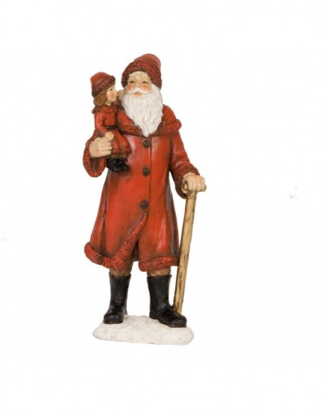 6PR0598 Clayre Eef - decoration Father Christmas
