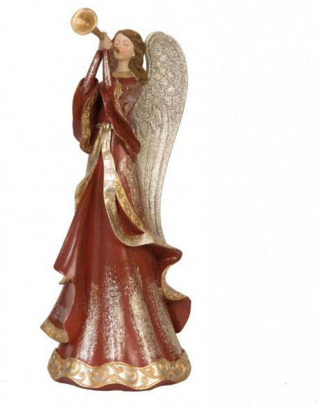 6PR0624 Clayre Eef - ANGEL Christmas decoration