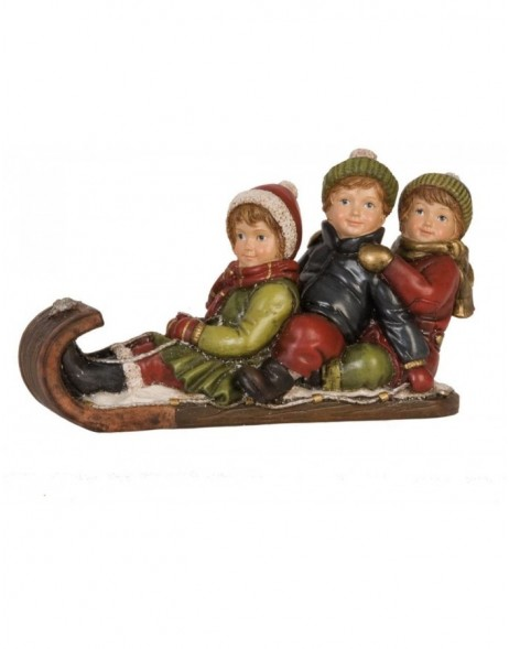 6PR0625 Clayre Eef - Christmas decoration CHILDRENS