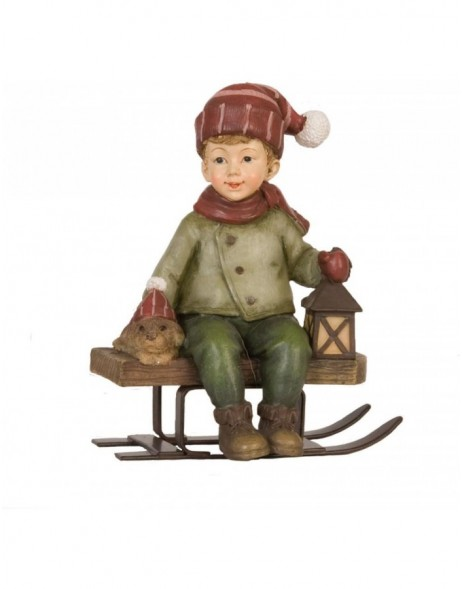 6PR0642 Clayre Eef - decoration LITTLE BOY