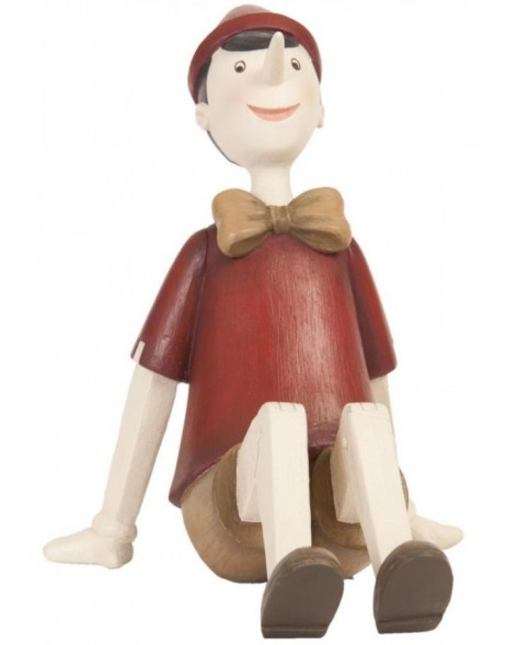 6PR0658 Clayre Eef - sitting decoration PINOCCHIO