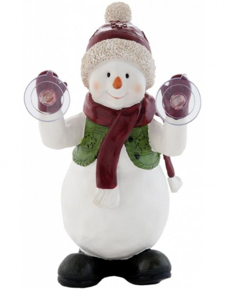 6PR0670 Clayre Eef - window decoration SNOWMAN