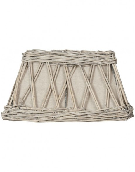 6RO0252 Clayre Eef lamp shade light brown