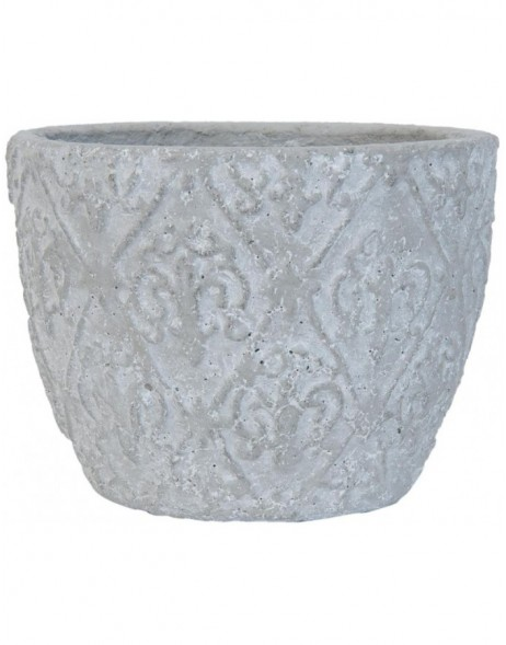 6TE0082S Clayre Eef planter in the size  Ø 17x12 cm