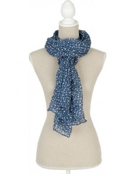 70x180 cm synthetic scarf SJ0543BL Clayre Eef