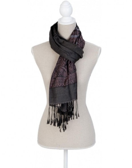 70x180 cm synthetic scarf SJ0572BGR Clayre Eef