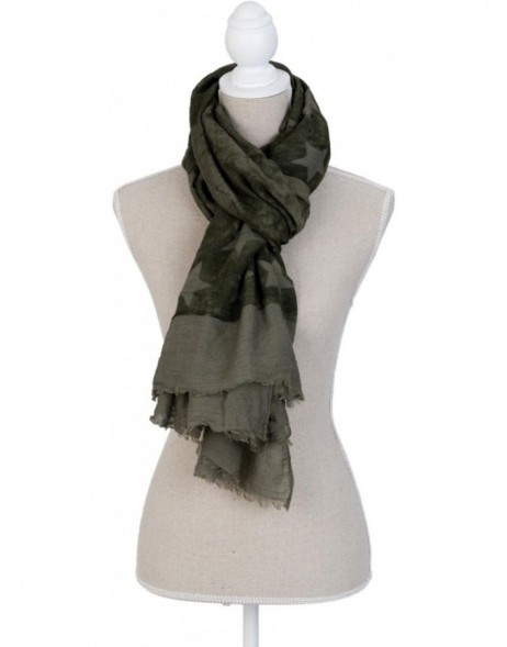 scarf SJ0562GR Clayre Eef in the size 90x180 cm