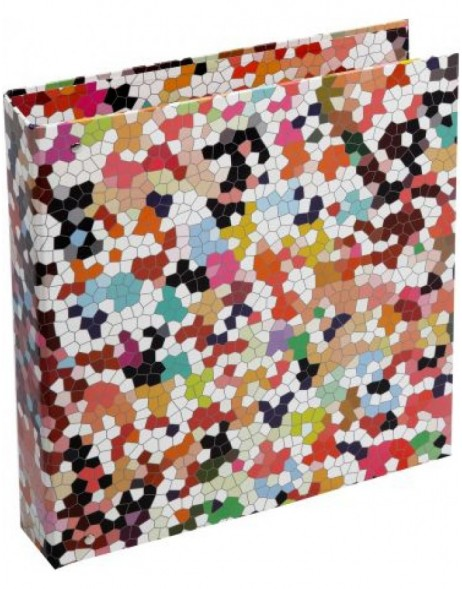 colouful A4 folder - Mosaik
