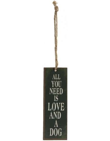 ALL YOU NEED pendant 5x15 cm
