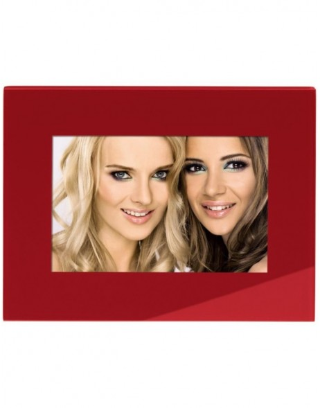 red ANCHORAGE portrait frame 13x18 cm