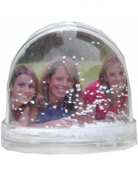 SNOW photo globe 6,5 cm