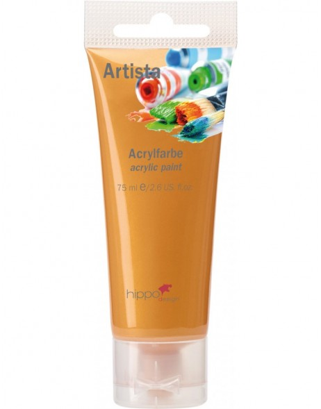 Acrylfarbe, gold, 75 ml