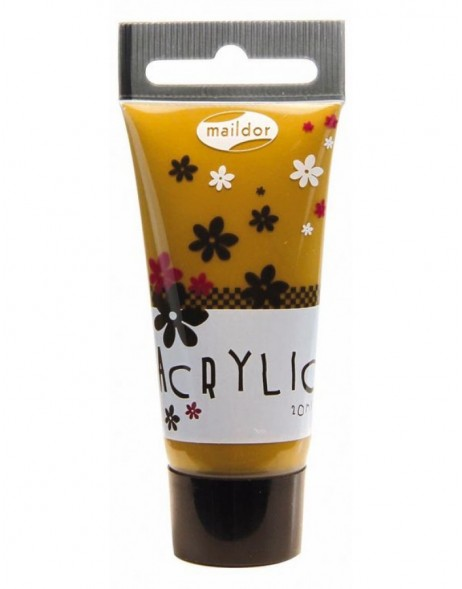 Acrylfarbe kaffeebraun 20 ml
