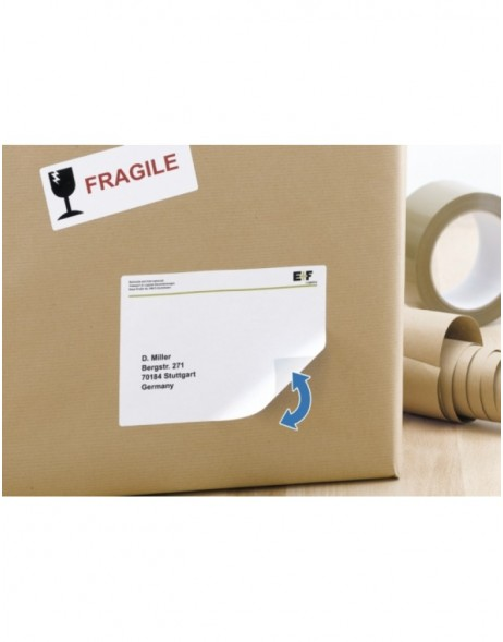 Labels white Movables/removable 199,6x143,5 A4 50pcs